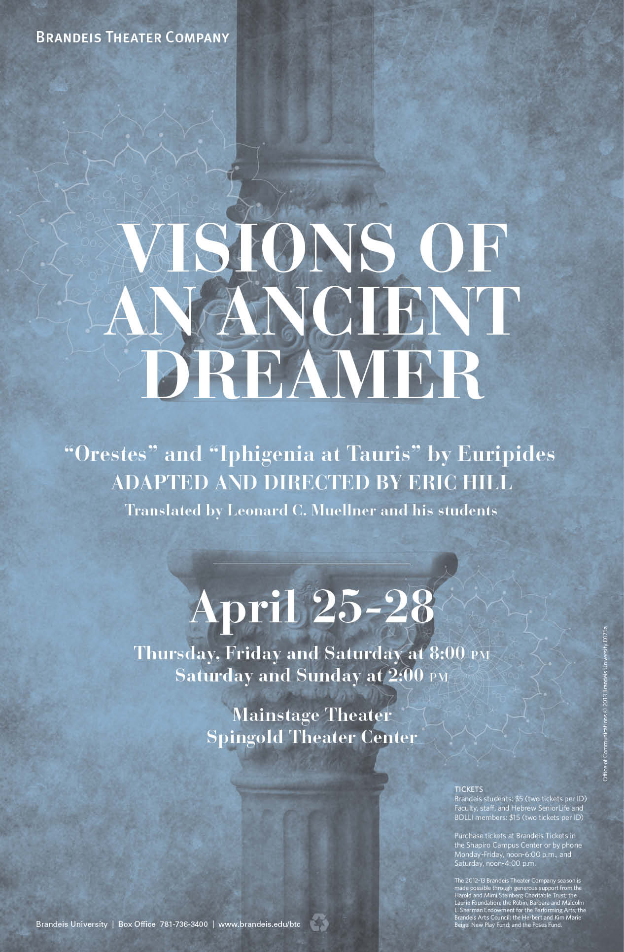 Ancient Dreamer Poster